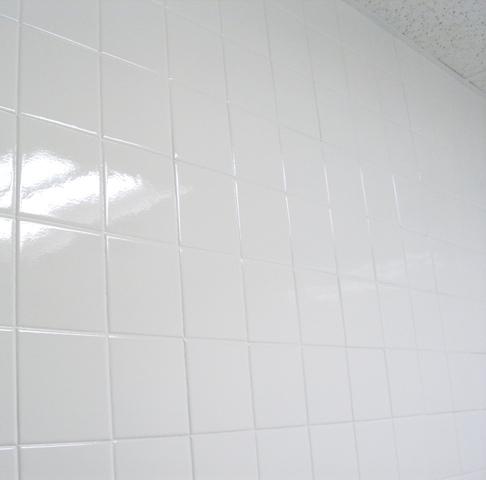 Wall tile reglazing