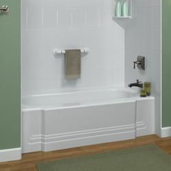Acrylic bathtub liners, acrylic shower liners and surrounds, shower liner walls