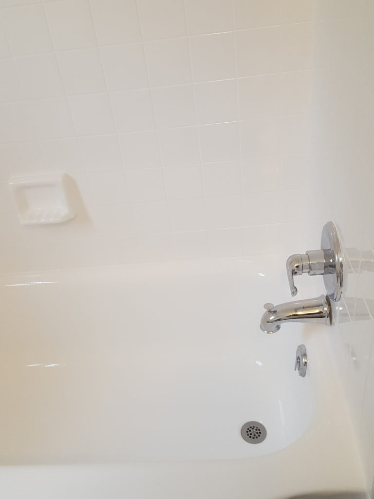Tub and tile refinishing